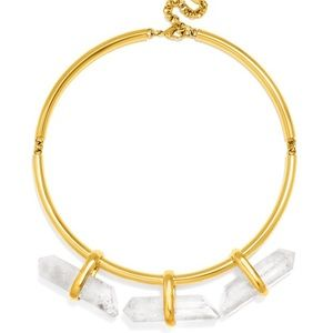 BAUBLEBAR Moto Quartz Collar Necklace